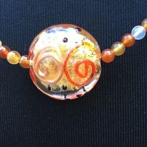 Jewelry - 🌀Glass Bead Necklace🌀